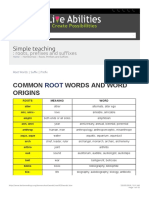 Root Words, Prefixes, Suffixes - Easy to Learn English