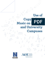 Music Use of Copyright