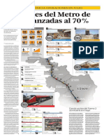 Estaciones Del Tren Eléctrico Están Avanzadas en Un 70% (315885)