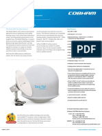 Sea Tel 5004 Satellite TV Data Sheet