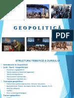 Capitolul 1 Geopolitica 2016