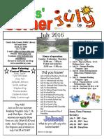Kids Corner July 2016