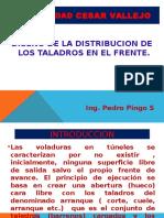 Distribucion de Los Taladros en El Frente C-8