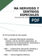 Sesion 1-Sistema Nervioso y Sentidos Especiales