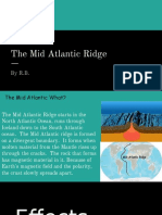 the mid atlantic ridge