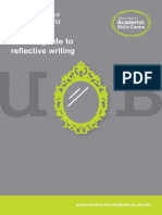 Short Guide Reflective Writing