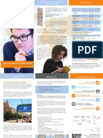 Brochures for Foreign Language Courses at the Sprachenatelier