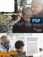 Ontario Cancer Plan IV 2015-2019