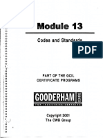 Module 13 Codes and Standards