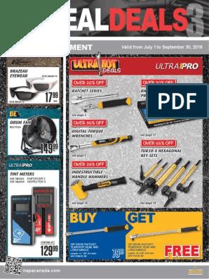 Best Way Tools 50246 Square Recess Number-1 x 6 Head Screwdrivers