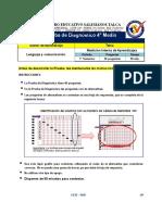 Prueba diagnóstico  4° Medio 2014
