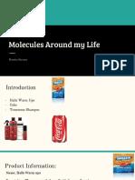 molecules around me
