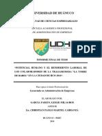 Informe Final de tesis