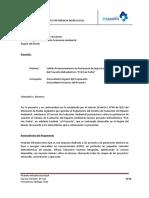 PCH San Pedro - Carta Pertinencia Ingreso SEIA