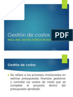 Plan de Gestion de Costos