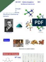 Química - Compostos de Coordenação 1