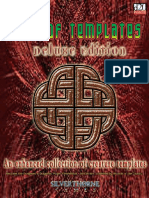 (RPG) d20 D&D 3E - STG - Book of Templates Delux Edition