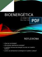Bionergetica y Termodinámica