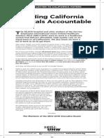 "SEIU-UHW's Dishonest ""Open Letter"" regarding Withdrawal of California Ballot Initiative, Sacramento Bee"