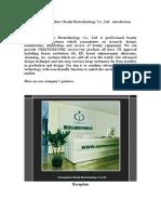 Chenlu Company Introduction