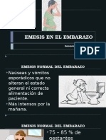 Emesis en elembarazo