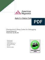 Aptio v Status Codes