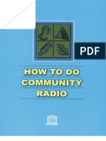 Louie Tabing, UNESCO - How to Do Community Radio