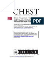 2011 - Efficacy of an Adjustable Oral Appliance and CPAP for OSAS