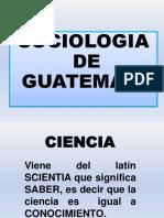 Sociologia de Guatemala Presentacion