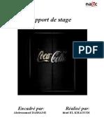 Rapport de Stage-coca cola