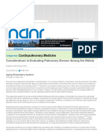 2012 - Considerations in Evaluating Pulmonary Disease Among the Elderly _ NDNR 2012