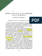 CHEVALLIER, Jean Jacques, «Burke (1729-1797) o el desquite de la historia Ensayo de síntesis», 1960