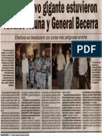 Satélite 22-08-09 En operativo gigante estuvieron Alcalde Acuña y General Becerra