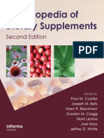 Encyclopedia of Dietary Supplements 2nd Ed - P. Coates, Et Al., (Informa, 2010) WW