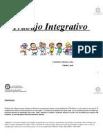 Planificación Trabajo Integrativo