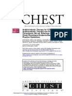 Antithrombotic Therapy for VTE Disease