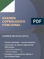 Examen Coprologico Funcional
