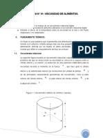 Practica n 01 de Mecanica de Fluido