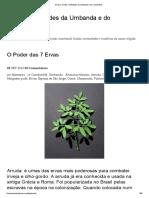 Ervas _ Orixás e Entidades Da Umbanda e Do Candomblé