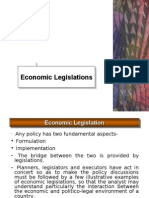 Economic Legislations