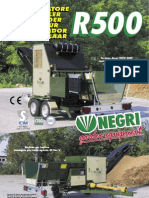 R500 Bio Shredder Leaflet