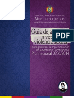 Guía de Atención a Víctimas de Violencia Sexual