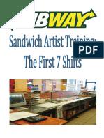 7th Subway Manual de Propietario