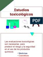 Estudios Toxicológicos