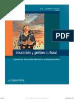 Educacion y Gestion Cultural