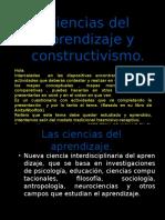 Ciencias Del Aprendizaje y Constructivismo Tarea