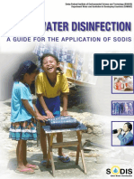 Manual - Solar Disinfection of Water - SODIS