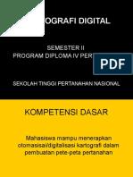 Kartografi Digital i