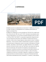 Distrito de La Esperanza