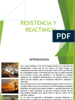 Resistencia y Reactancia
